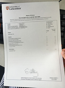 Fake University of Leicester academic record, buy University of Leicester academic record