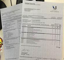 University of West London official transcript, buy fake University of West London academic transcript