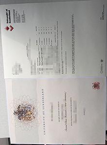 University of Sunderland degree with transcript, fake University of Sunderland diploma and transcript