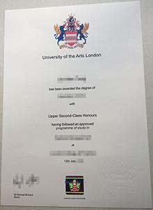 University of the Arts London phony degree, buy fake UAL diploma