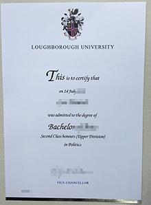 Loughborough University fake degree, buy novelty LU diploma online