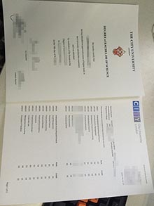 Why dont you try to buy City University London degree with transcript together?
