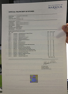 Buy University of Warwick official transcript, counterfeit Warwick final record
