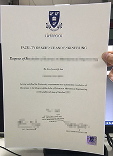 University of Liverpool fake degree, buy fake Liverpool certificate