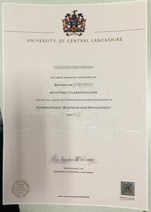 University of Central Lancashire diploma, buy fake UCLan degree