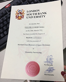 Fake LSBU diploma, buy a London South Bank University diploma in UK