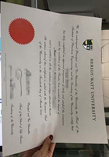 Heriot-Watt University diploma template, buy a Heriot-Watt Uni degree