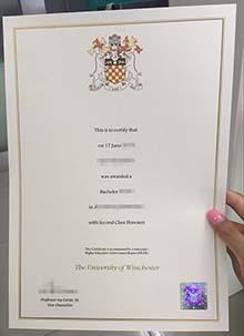 University of Winchester degree, buy fake University of Winchester certificate
