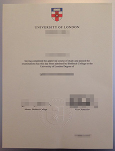 How to Buy a Fake university of London Birkbeck College Diploma in UK?