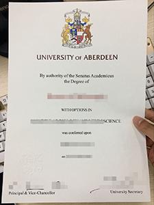 Buy Fake University of Aberdeen Diploma Is So Easy!
