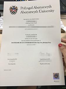 Buy Fake Aberystwyth University Diploma for Higher Salary!