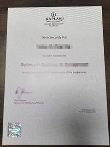 Buy fake Kaplan Diploma online is so easy!