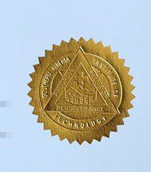 Golden seal! Perfect process