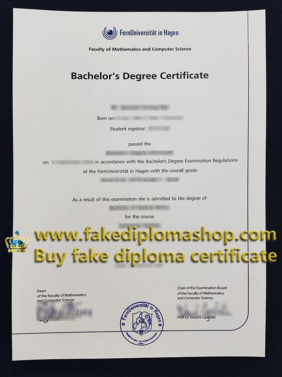 University of Hagen degree