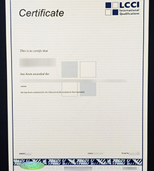 LCCI certificate, Order a fake London Chamber of Commerce & Industry certificate online