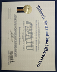 Order AIU diploma, How much to buy a fake Atlantic International University degree in the USA?