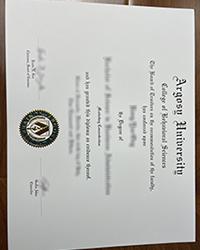 Best Argosy University degree, Where to spot a fake Argosy University diploma?