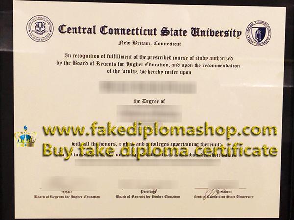 CCSU Central Connecticut State University degree