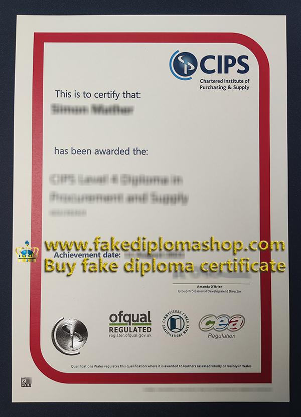 CIPS certificate