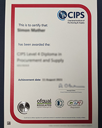 CIPS certificate, What's Right About buy A Chartered Institute of Procurement & Supply certificate?