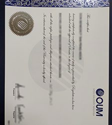 Open University Malaysia degree, Purchase a fake OUM degree in fake diploma shop