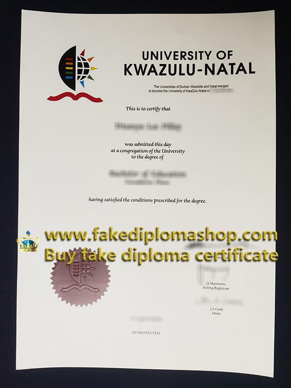 UKZN diploma