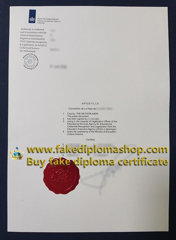 University of Twente certificate