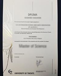 Buy UT certificate, How to spot a fake University of Twente certificate?
